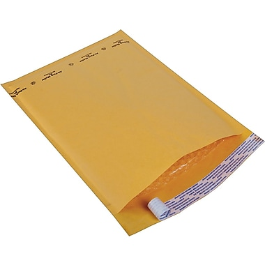 Staples® Kraft Bubble Mailer Envelope #4, 9-1/2