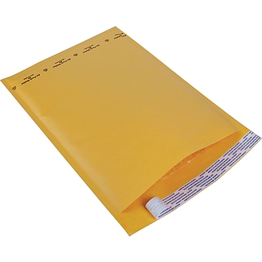 Staples® Kraft Bubble Mailer Envelope #5, 10-1/2