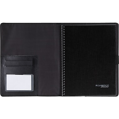Mead® Cambridge® Limited Refillable Notebook Cover, 9-1/2in. x 6-5/8in.