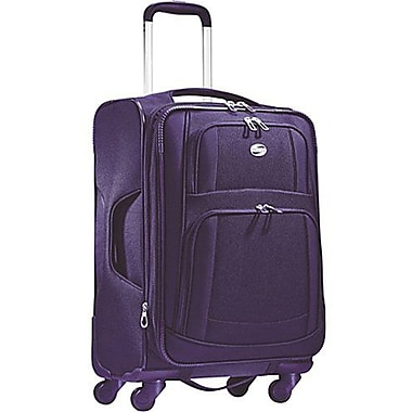 American Tourister iLite Supreme, 21in. Softside Spinner Luggage, Purple