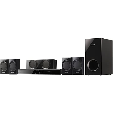 Panasonic® SC-BTT190 5.1 Channel Full HD 3D Blu-ray Disc™ Home Theater, 1000 W
