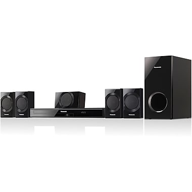 Panasonic® SC-XH170 5.1 Channel DVD Home Theater System, 1000 W