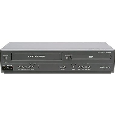 Magnavox® DV225MG9 DVD Player and 4 Head Hi-Fi Stereo VCR