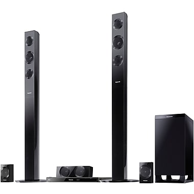 Panasonic® SC-BTT490 5.1 Channel Full HD 3D Blu-ray Disc™ Home Theater, 1000 W
