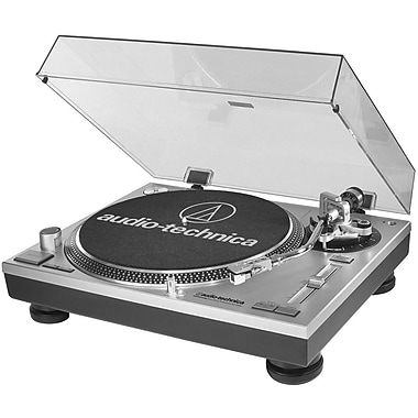 Audio-Technica® AT-LP60-USB Professional Stereo Turntable w/ USB Port, 33/45/78 RPM
