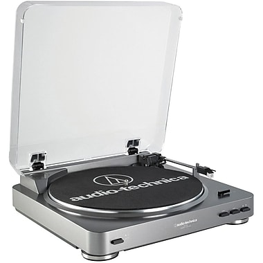 Audio-Technica® AT-LP60 Fully Automatic Stereo Turntable System, 33-1/3 and 45 RPM