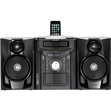 Sharp® CD-DH950P Mini Audio System w/ iPod Dock