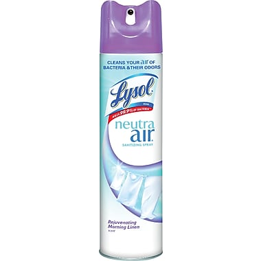 Lysol® Neutra Air® Revitalizing Sanitizing Spray, Morning Linen, 10 oz.