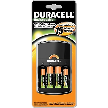 Duracell AA/AAA 15-Minute Charger Kit