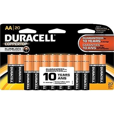 Duracell® AA Alkaline Batteries, 20-Pack