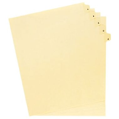 Oxford® Legal Trade Exhibit Index Tab Dividers, A to Z, 26-Tab Set