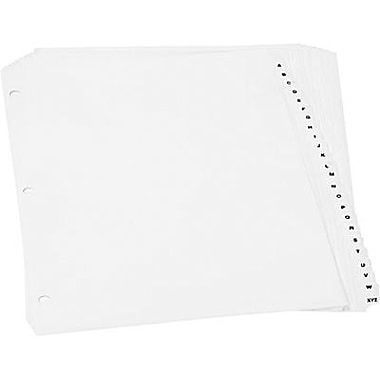 Oxford® Pre-Printed Poly Index Tabs, A to Z