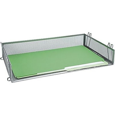 Staples® Metal Mesh Stackable Legal Tray, Silver