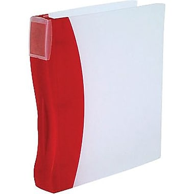 Storex DuraTech Plastic Frosted Binder, 2
