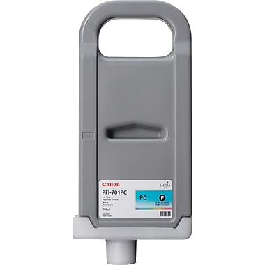Canon® PFI-701PC Photo Cyan Pigment Ink Tank (0904B001)