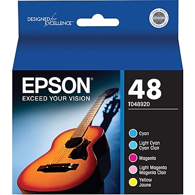 Epson® – Cartouches d'encre couleur T048920, paquet combiné