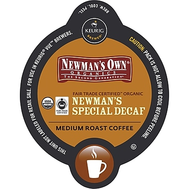 Keurig Vue Pack Newman's Own Special Blend, Decaf, 16/Pack