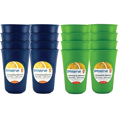 Preserve Everyday Cup Set, 16 oz., 16-Cups/Set