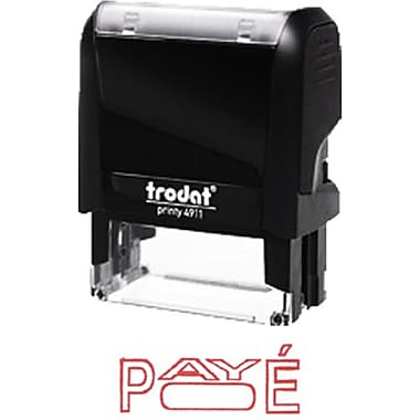 Trodat® Printy 4911 Climate Neutral Self-Inking Stamp - PAYÉ, with Window
