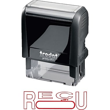 Trodat® Printy 4911 Climate Neutral Self-Inking Stamp - RÉCU, with Window