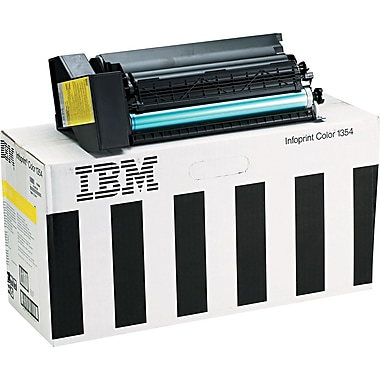 InfoPrint Yellow Toner Cartridge (75P4058), High Yield