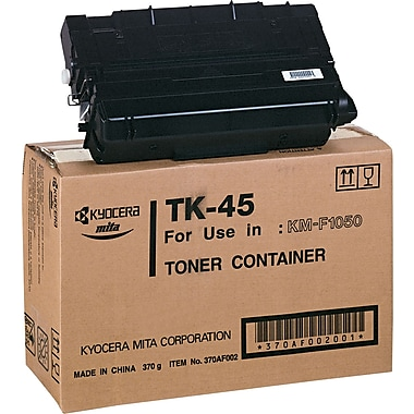 Kyocera Mita Black Toner Cartridge (TK-45), High Yield