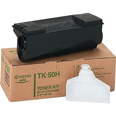 Kyocera Mita TK-50 Black Toner Cartridge (TK50H), High Yield