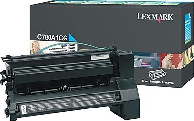 Lexmark Cyan Toner Cartridge C780A1CG Return Program