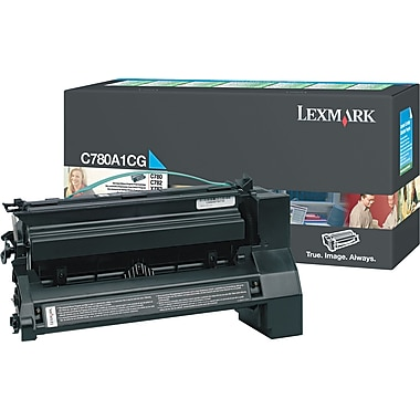 Lexmark C780 Cyan Toner Cartridge (C780A1CG), Return Program