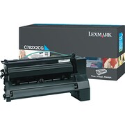 Lexmark Cyan Toner Cartridge (C782X2CG), Extra High Yield