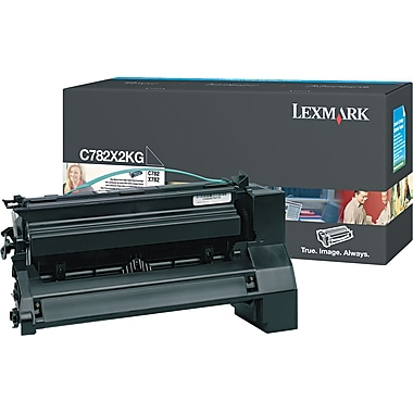 Lexmark C782 Black Toner Cartridge (C782X2KG), Extra High Yield