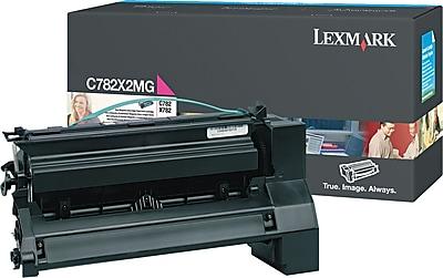 Lexmark Magenta Toner Cartridge C782X2MG Extra High Yield