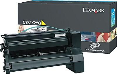 Lexmark Yellow Toner Cartridge C782X2YG Extra High Yield