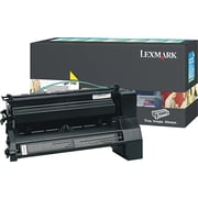 Lexmark XL Yellow Toner Cartridge (C782X4YG), Extra High Yield, Return Program