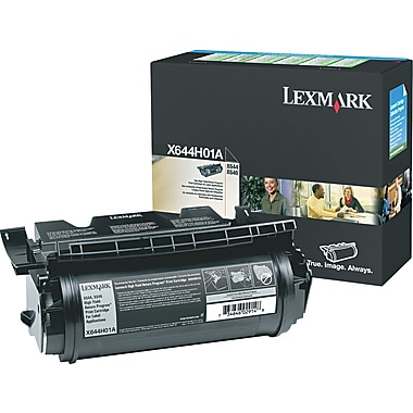 Lexmark Black Toner Cartridge for Label Applications (X644H01A), High Yield Return Program