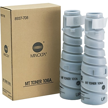 Konica Minolta TN-114 Black Toner Cartridge (8937-782), High Yield