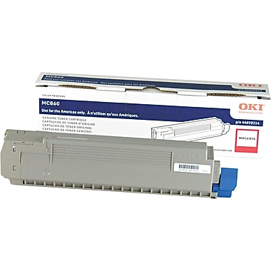OKI Magenta Toner Cartridge (44059214), High Yield