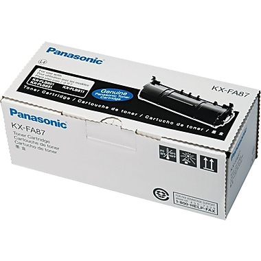 Panasonic Black Toner Cartridge (KX-FA87), High Yield