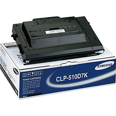 Samsung Black Toner Cartridge (CLP-510D7K/SEE), High Yield