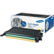 Samsung Yellow Toner Cartridge (CLP-Y660B), High Yield