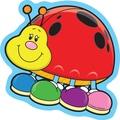 Carson-Dellosa Ladybugs Cut-Outs