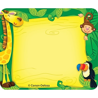 Carson-Dellosa Jungle Name Tags