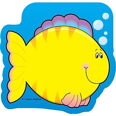 Carson-Dellosa Fish Notepad, 36 nonstick sheets per pad
