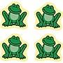 Carson-Dellosa Frogs Chart Seals