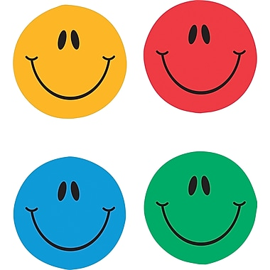 Carson-Dellosa Smiley Faces, Multicolor Chart Seals