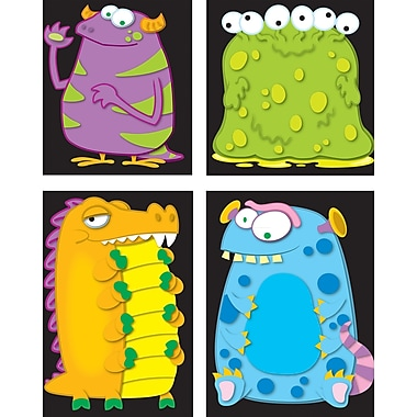 Carson-Dellosa Monsters Prize Pack Stickers