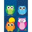 Carson-Dellosa Colorful Owls Prize Pack Stickers