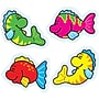 Carson-Dellosa Fish Shape Stickers