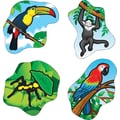 Carson-Dellosa Rainforest Animals Shape Stickers