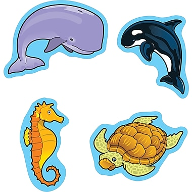 Carson-Dellosa Sea Life Shape Stickers, 90 Stickers